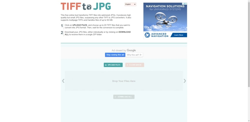 Online TIFF Converter-TIFFtoJPG