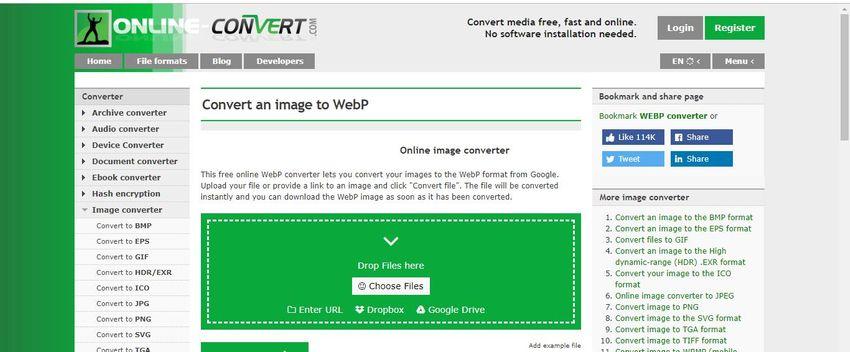 convert WebP to JPG file-image online convert