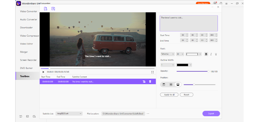 Add and customize subtitles
