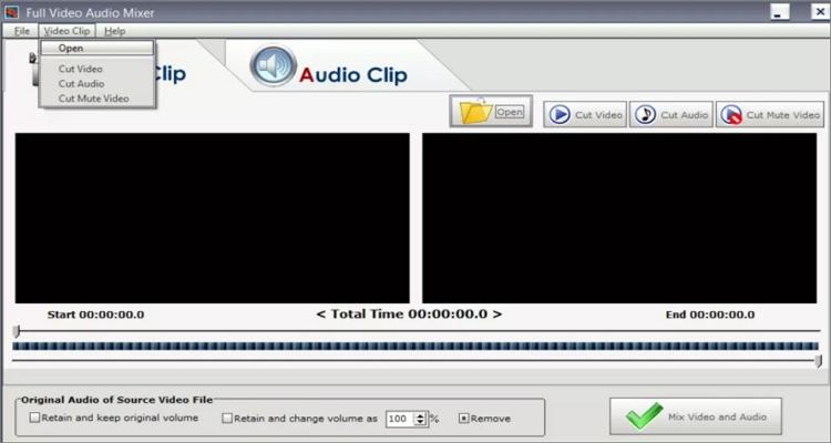 add audio photo to video