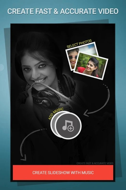 app photo slideshow with music
