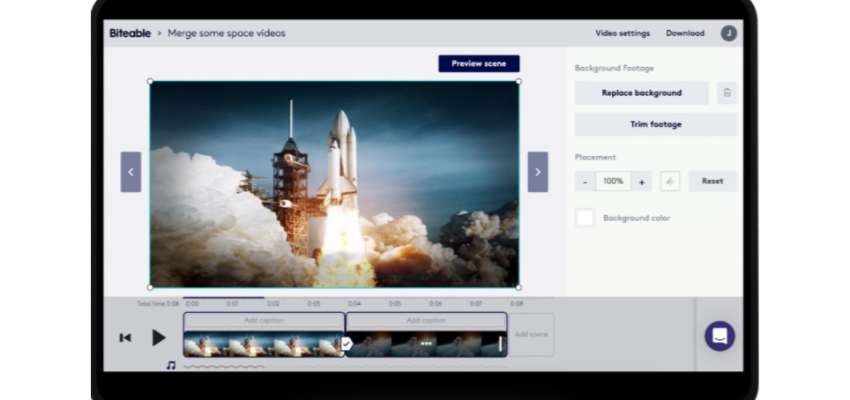 Biteable online video joiner