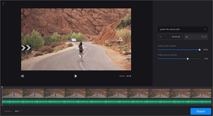 clideo photo music video mixer
