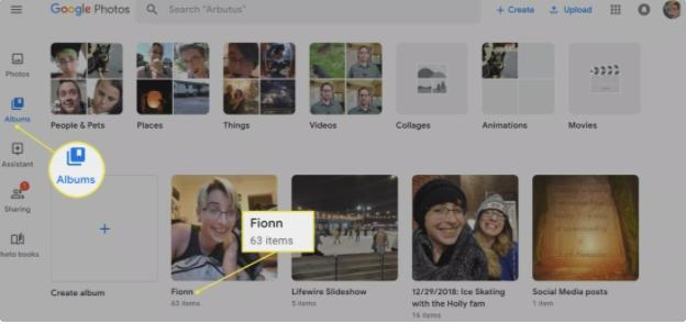 create slideshow google photos
