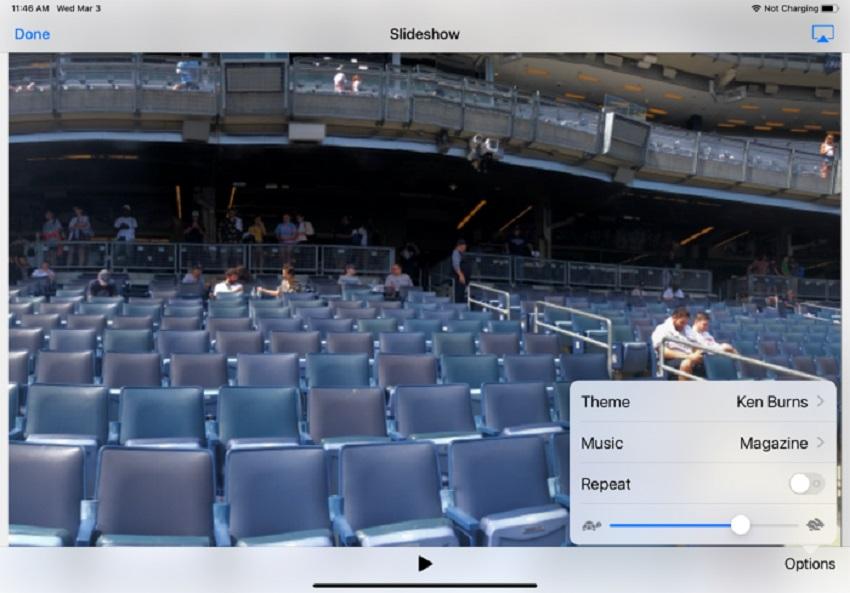 edit slideshow duration