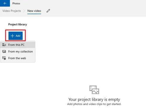 Start Adding the Files