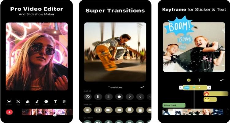 music video editor on iphone