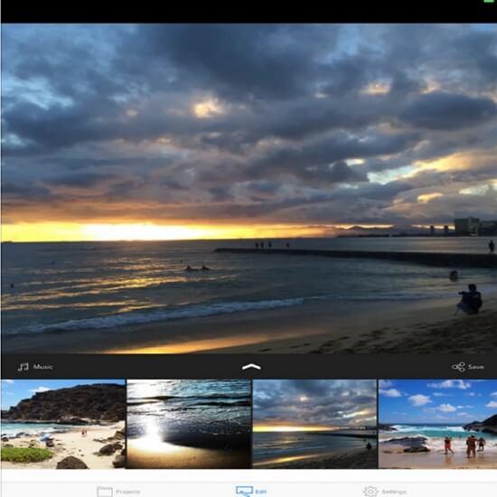 photo and video slideshow