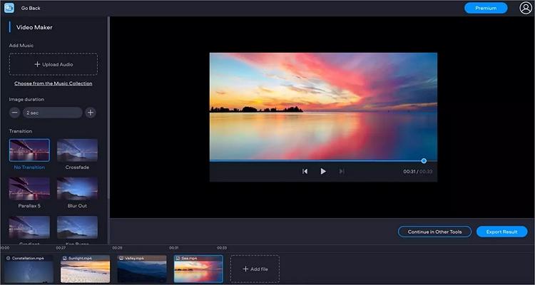 photo audio video mixer online