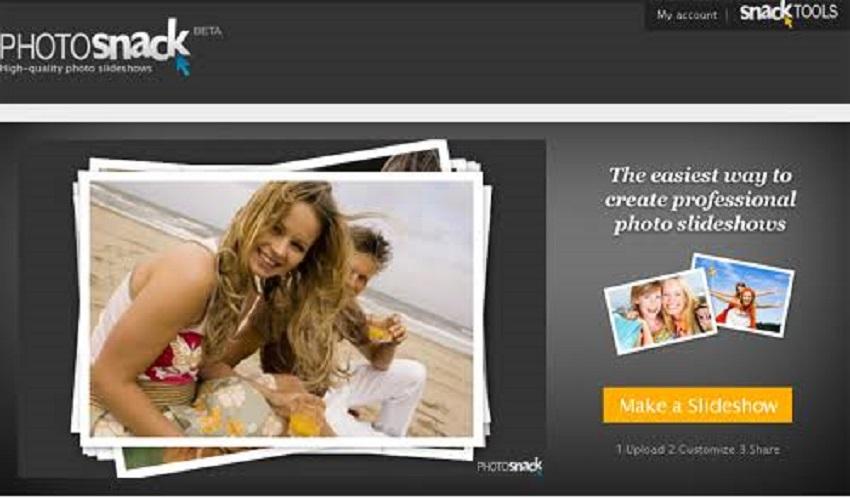 photosnack slideshow maker