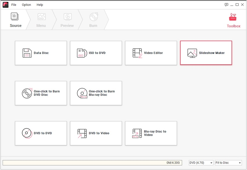 select slideshow maker