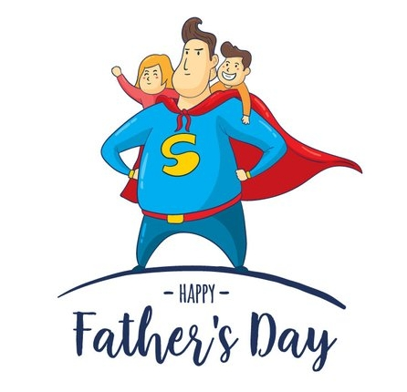 Your dad is your superhero