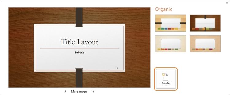Launch Microsoft PowerPoint