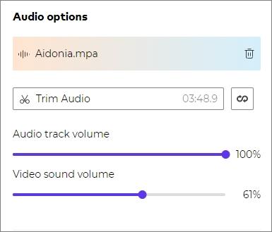add background music for jpg slideshow