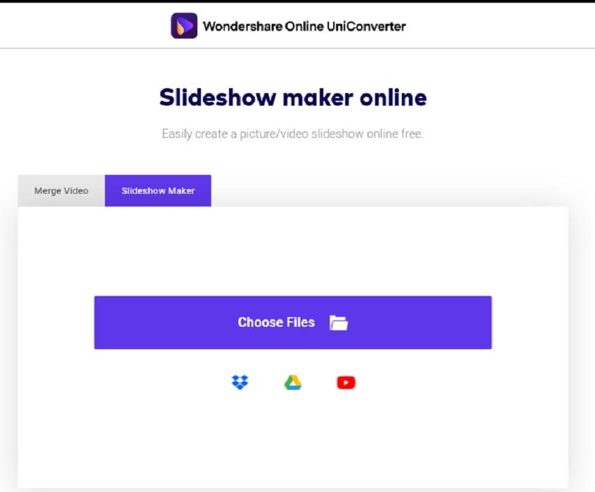 uniconverter slideshow maker