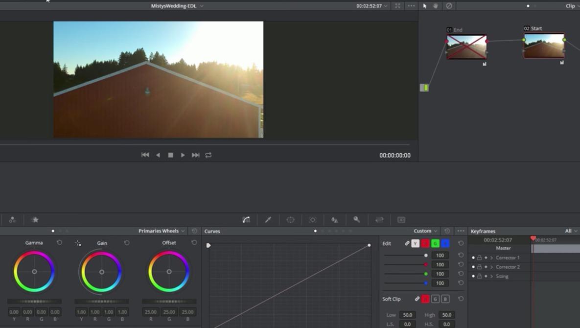 edit videos in DaVinci Resolve