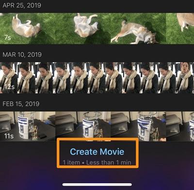 Create Movie