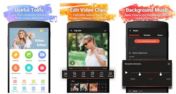 video show editing app