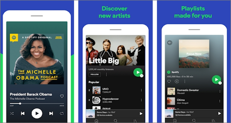best-free-music-apps-spotify