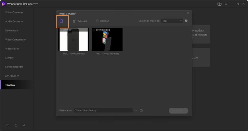 google-pixel-5-wondershare-uniconverter-step-2