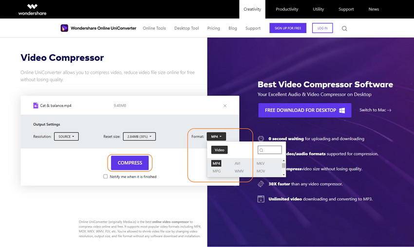 wondershare-online-uniconverter-video-compressor-3