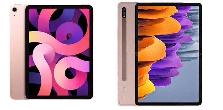 apple-ipad-air-4-vs-samsung-tab-s7-design