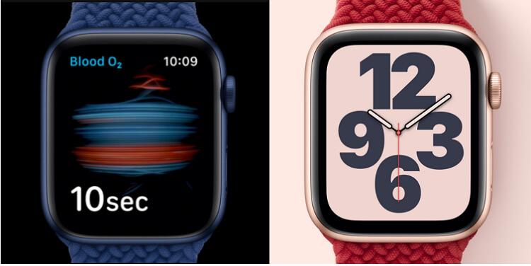 apple-watch-series-6-vs-watch-se-design-display