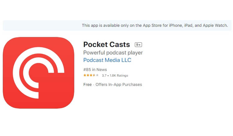 best-podcast-apps-for-iphone-pocketcast-podcast-pocket-cast