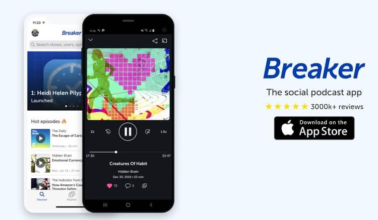best-podcast-apps-for-iphone-breaker--breaker