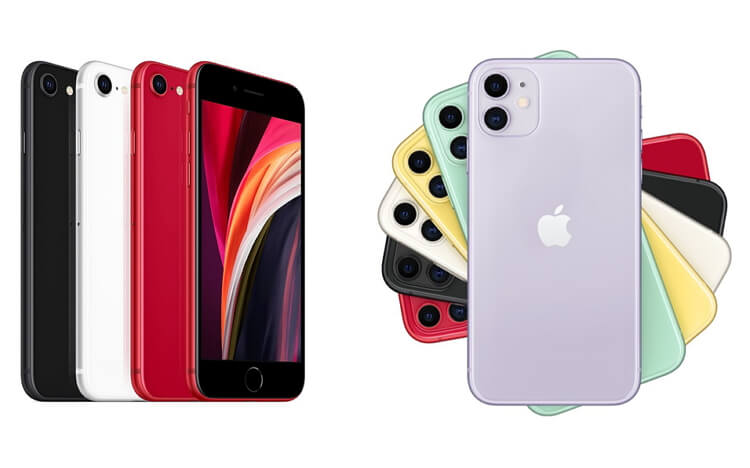 iphone-11-vs-iphone-se-color