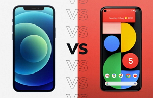 iPhone 12 and its rival Pixel 5