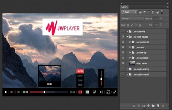 create your own html5 video player