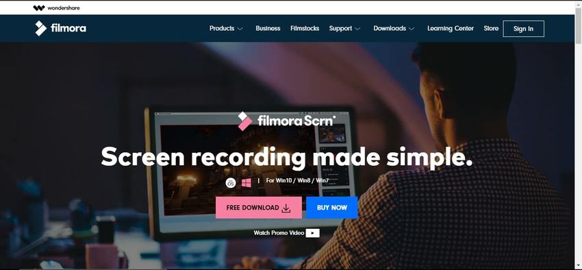 Audio Recording Software-Filmora