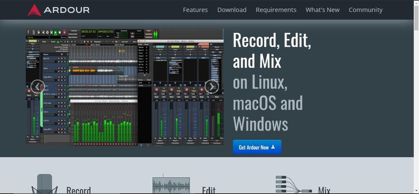 Free Vocie Recording Software-ARDOUR