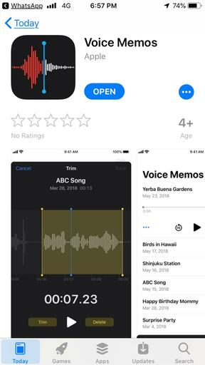 Sound Recorder App-Voice Memos