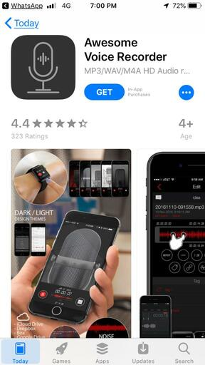 Voice Recorder App-Awesome Voice Recorder