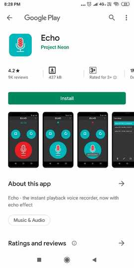 Simple Vocie Recorder-Echo