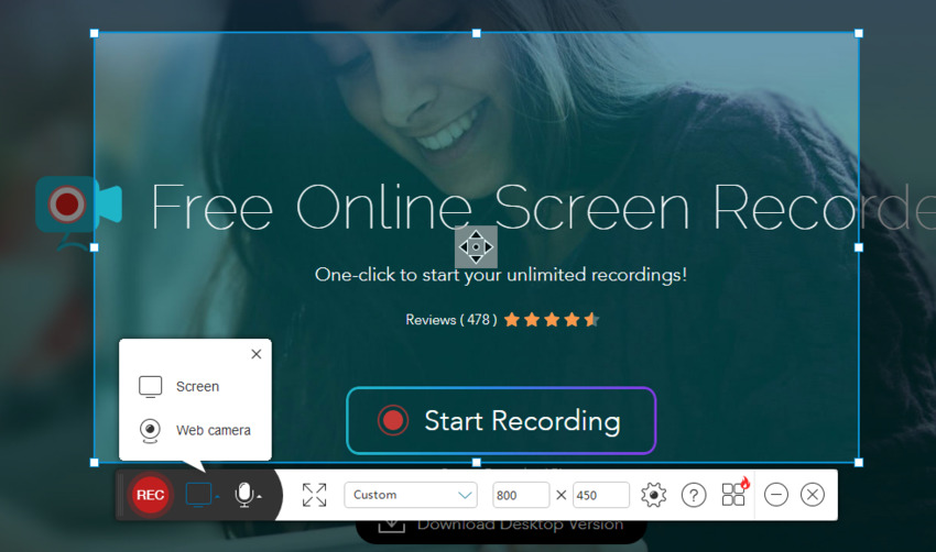 Screen Recorder for Firedfox-Powersoft