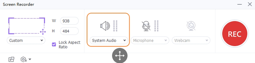Set System Audio in UniConverter