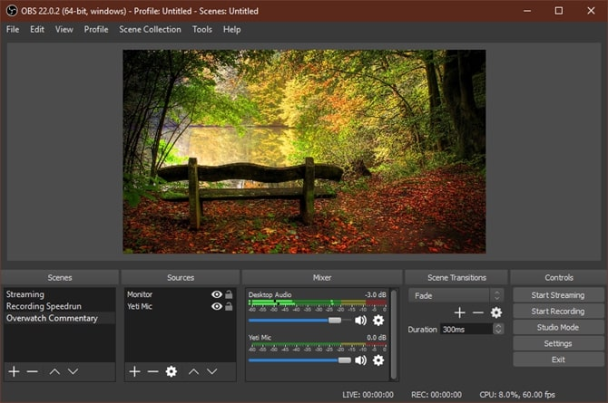 Game Screen Recorder-OBS Studio