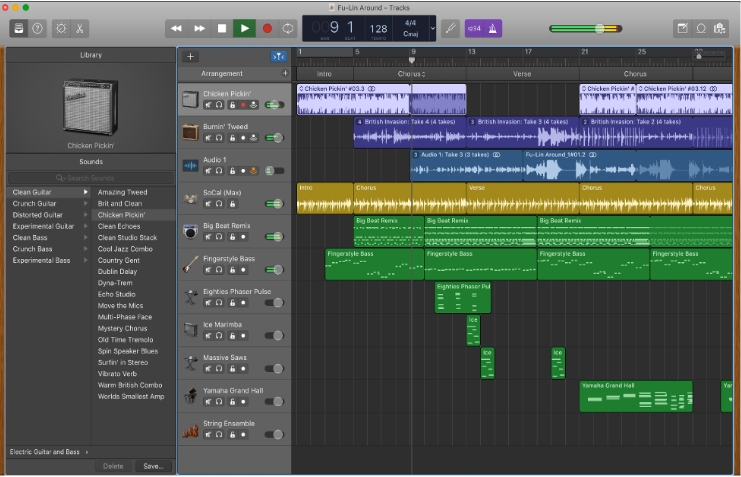 Music Recording Software Garageband