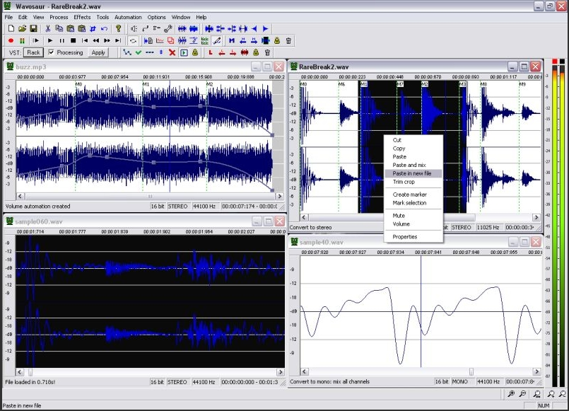Music Recording Software wavosaur