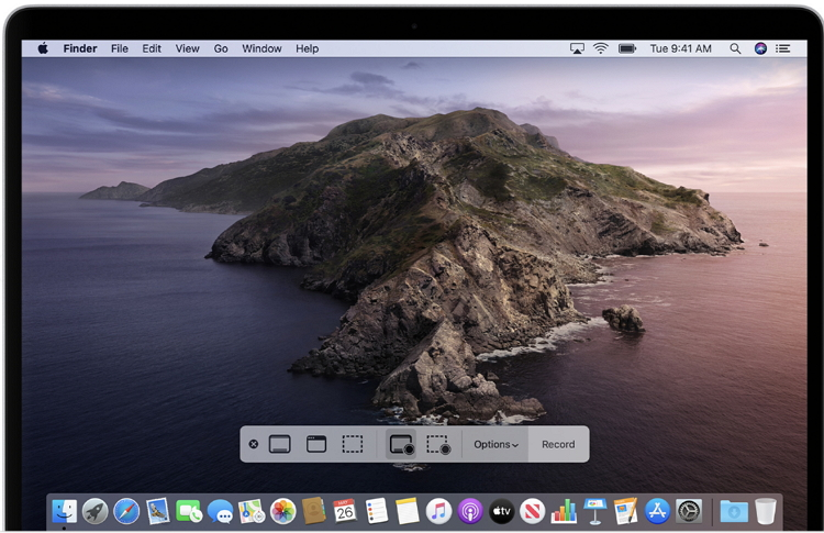 screen record on mac with quicktime