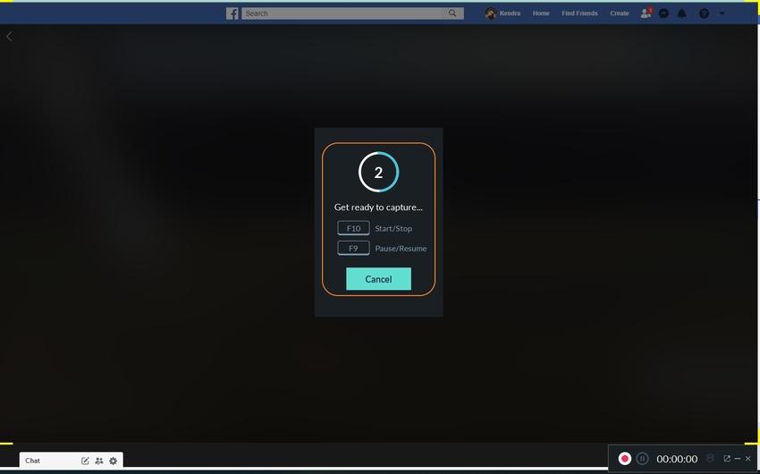 Shortcut Button for Filmora Scrn