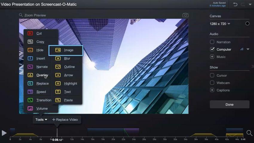 Stream Recording Application-Screencast-O-Matic