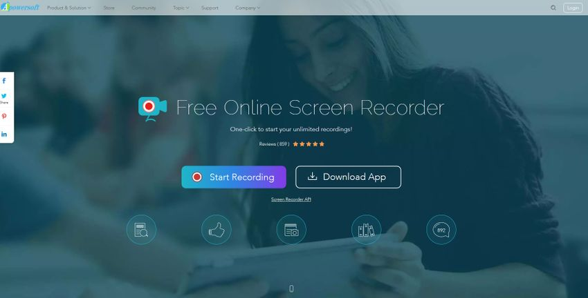 Stream Recorder-Free Online Screen Recorder