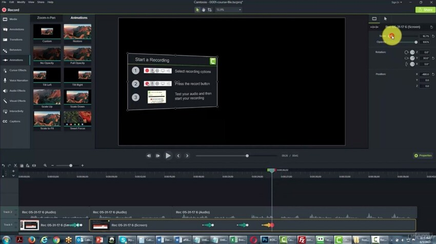 Capture Streaming Video Freeware-Camtasia