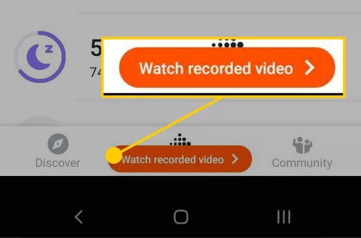 Stop Recording and View the Record Video