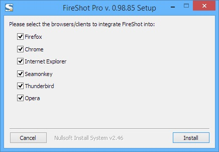 screen capture streaming software-Fireshot