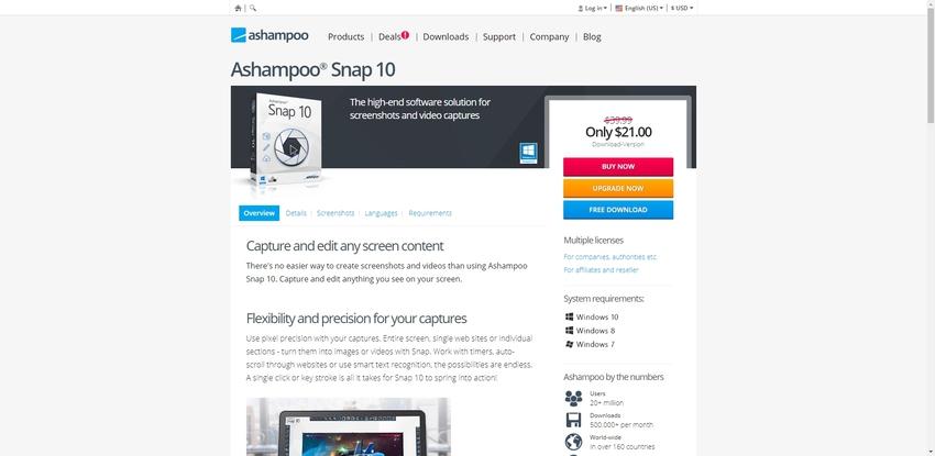 Screen Grab Windows-Ashampoo